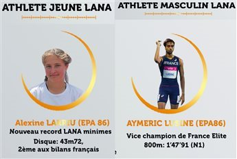 ELECTION ATHLETES LANA JUILLET